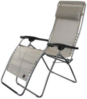 Fabulous Lafuma Rsxa Seigle Relaxer Recliner Outdoor Chair Creativecarmelina Interior Chair Design Creativecarmelinacom