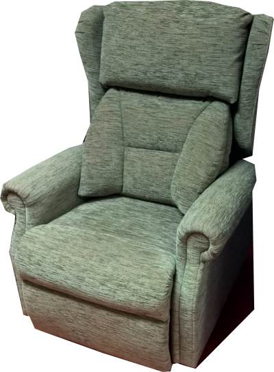 Repose Chepstow Chair Stria Green