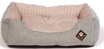 Danish Design dog bed maritime red snuggle bed from £20