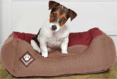 danish-design-dog-bed-with-dog-heritage-houndstooth-snuggle-bed