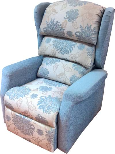 immediate delivery buttermere-fresco-blue-floral-powder-blue  sc 1 st  Ribble Valley Recliners & Fabric Riser Recliners Archives - Ribble Valley Recliners islam-shia.org