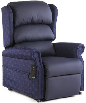Waterproof Contract Fabric Riser Recliners
