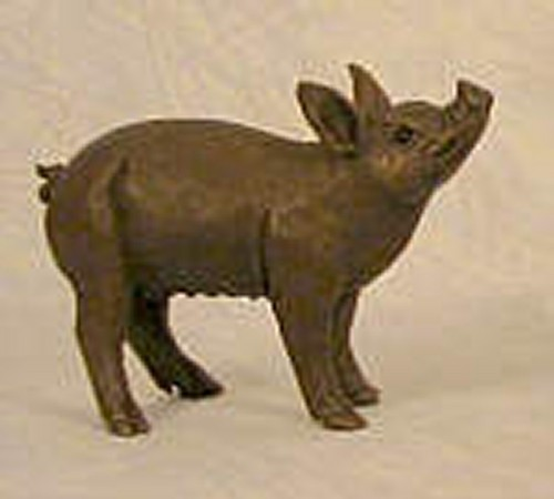 suzie marsh patsy piglet bronze resin
