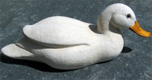 suzie_marsh_single_duck__portland_stone_resin_L